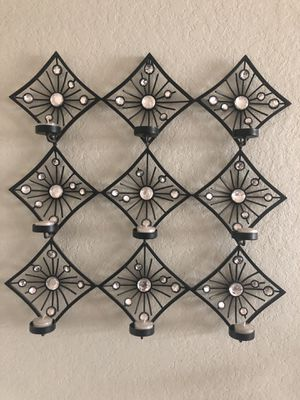 Wall art candle holder for Sale in San Antonio, TX
