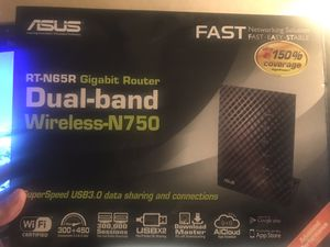 Asus Router N750. RT N65R $50.00 for Sale in Fontana, CA