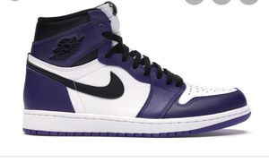 Jordan 1 Court Purple (Sell Me Pairs) for Sale in Hamburg, NY