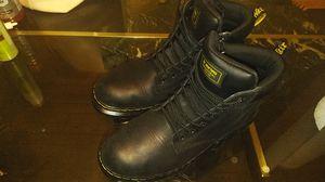 Doc Martin's size 13 men steel toe work boots worn once for Sale in Kenosha, WI