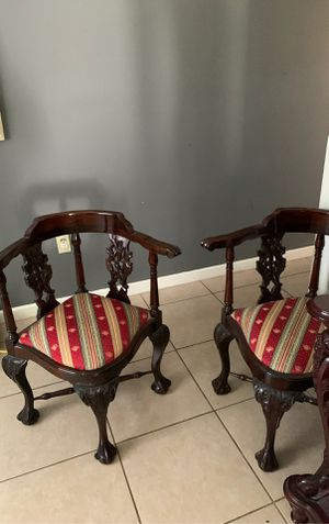 Matching Antique Mahogany Chairs for Sale in Bradenton, FL