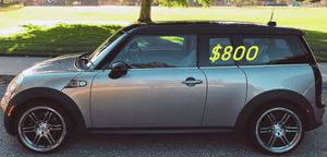 For Sale Urgent!2009 MINI Cooper Clubman S,Clean title,Works and drives excellently!Price$8OO for Sale in Madison, WI