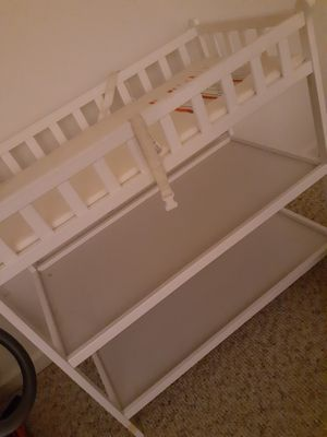 Changing Table with Pad and 2 Shelves for Sale in Allentown, PA