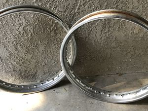 Triumph motorcycle hoops, need hub and spokes for Sale in Huntington Beach, CA