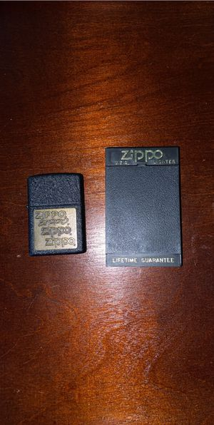 Zippo lighters vintage from late 80's for Sale in Holly Springs, NC