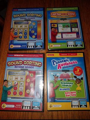Lakeshore Learning Skills Games CD-ROMS for Sale in Endicott, NY