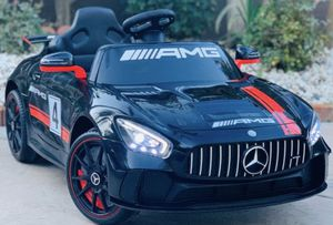 BRAND NEW Mercedes Benz AMG GT-4 12volt REMOTE CONTROL MODEL electric kid ride on car power wheels for Sale in El Cajon, CA