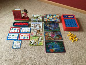Games and blocks puzzles for Sale in Yorkville, IL