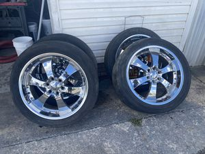 22 Inch Chrome Wheels for 6 Lug Chevy/GMC/Toyota for Sale in Cayce, SC
