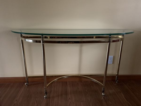 4 Quality Glass Tables 2 Ends 1 Coffee & 1 Sofa Table