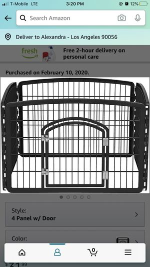 Black Dog Crate for Sale in New York, NY