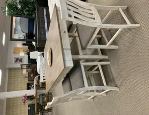 🚚3-6 days delivery🚚NewNina White Dining Set for Sale in Jessup, MD
