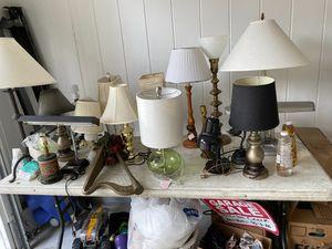 Multiple lamps for Sale in Dublin, GA