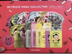Tony Moly 19pc Mask Set for Sale in Marietta, GA