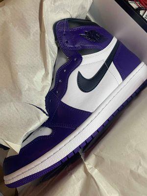 Jordan Court Purple Size 10 DS for Sale in Houston, TX