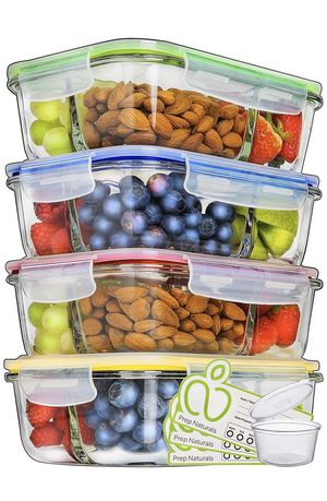 Prep Fresh Glass Food Storage Containers (9 total) for Sale in Miami, FL