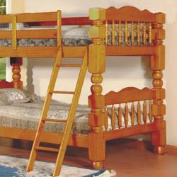 Honey Pine Twin/Twin Bunk Bed | 4471H for Sale in College Park,  MD