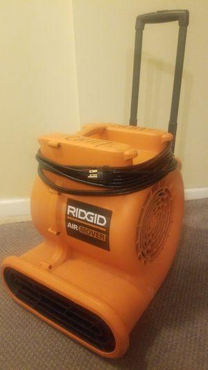 Ridgid Air Mover for Sale in Upper Marlboro, MD