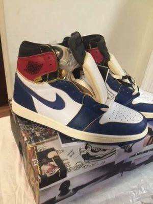 Supreme- Jordan 1's Los Angeles Union blue toe. Sz 12. Deadstock 🔥🔥🔥🔥🔥NO TRADES for Sale in Clovis, CA
