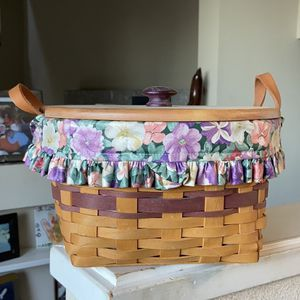 Longaberger Basket for Sale in Lafayette, CA