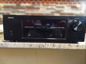 Denon receiver + Boston Acoustics speaker system for Sale in Southfield, MI