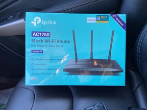 TP Link AC1750 WiFi router for Sale in Brandywine, MD