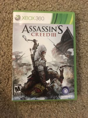 Assassins Creed III XBOX360 for Sale in Downey, CA