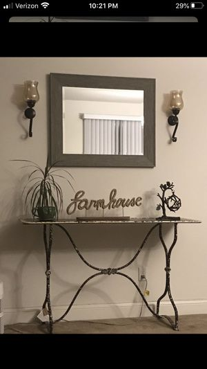 Metal console table for Sale in Santa Maria, CA