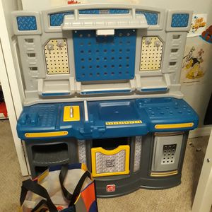 Kids work bench & tools for Sale in Land O' Lakes, FL