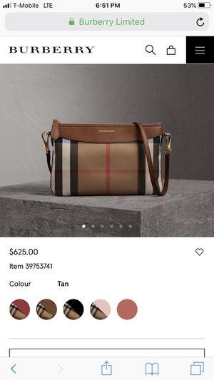 Burberry shoulder bag brown for Sale in Houston, TX