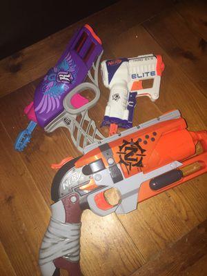 Three nerf guns for Sale in Blaine, MN