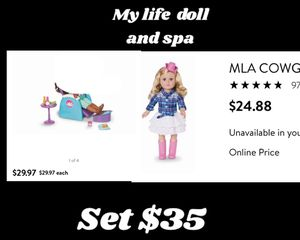 My life doll and spa set for Sale in Phoenix, AZ