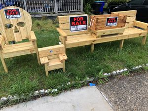 outdoor furniture for sale! Contact me for what you want or interested in & ill get it made as soon as possible for you! for Sale in Hammonton, NJ