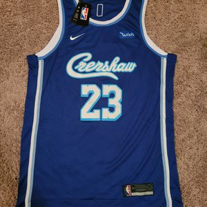 #23 Lakers LeBron James Nike Jersey XL & 2x $50 for Sale in Puyallup, WA