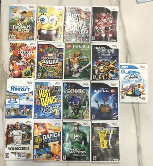 Wii games (17) for Sale in Queens, NY