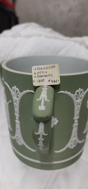 $600 for both,or 375.00 ,willing to sell separately. 1880 Wedgewood Creamer and 3 Handle. for Sale in Arvada, CO