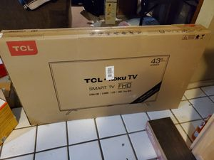 "TCL 43"" Roku Smart TV for Sale in Spring, TX"