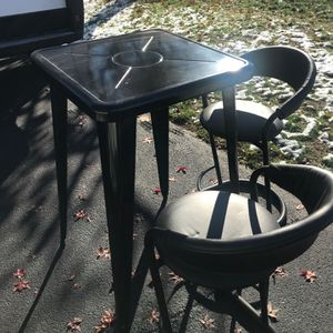 Metal Table And Bar Chairs Like New for Sale in West Hartford, CT