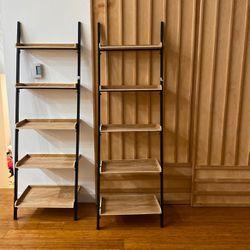 Stair Leaning bookcase Bookshelf 5 Shelf Ladder Book Ladder for Sale in Auburn,  WA