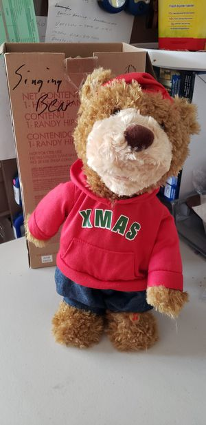 Merry x mas bear for Sale in East Wenatchee, WA