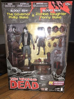Walking dead the governor and daughter Action Figure for Sale in Coral Gables, FL