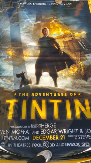 TINTIN vinyl movie poster for Sale in Billings, MT