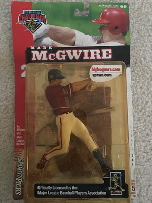 McFarlane Toys MLB Sports Picks Club Exclusive Big League Challenge Action Figure Mark McGwire asking $10 for Sale in Charlotte, NC