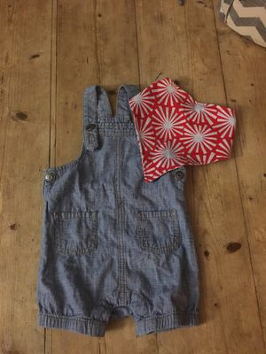 Cat & Jack Overalls and Bib (12M) for Sale in San Jose, CA