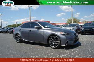 2016 Lexus IS 300 for Sale in Orlando, FL