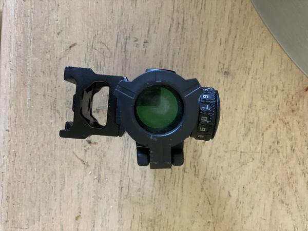 Zig green dot sight