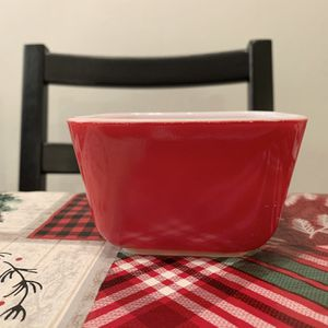 Vintage Pyrex red 501 refrigerator dish (no lid) for Sale in Huntington Beach, CA