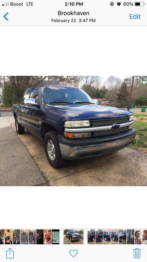 2001 Chevy Silverado 1500 rwd for Sale in Atlanta, GA