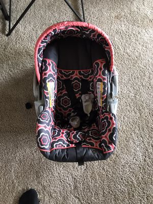Car seat for baby, not the shoes :) for Sale in Silver Spring, MD