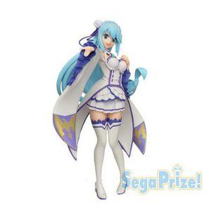 Japanese anime konosuba aqua emilia version figure toy sega limited LPM premium 8.5 inches for Sale in San Gabriel, CA